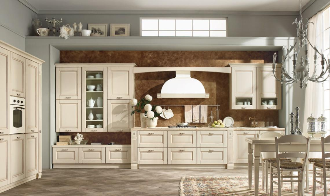 Cucine classiche arredare in uzzano soluzioni arredamento - Cucine classiche chiare ...