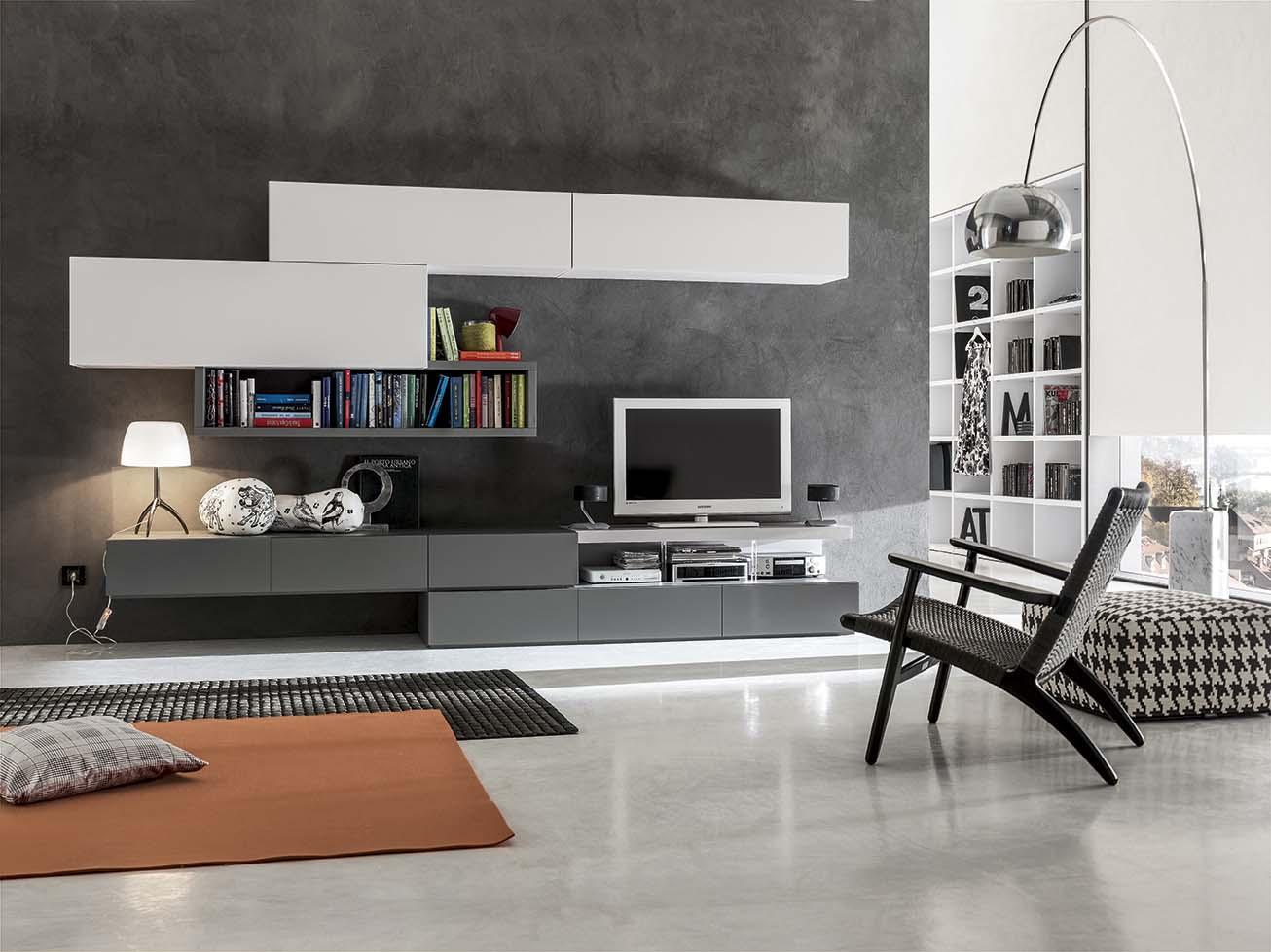 Soggiorni moderni arredare in uzzano soluzioni arredamento for Mobili moderni per soggiorno