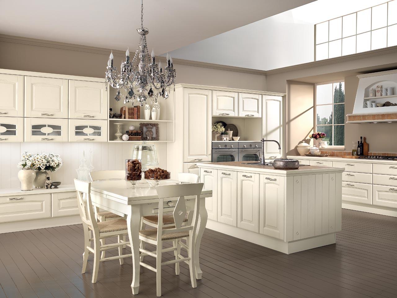 Cucine classiche arredare in uzzano soluzioni arredamento for Cucine classiche