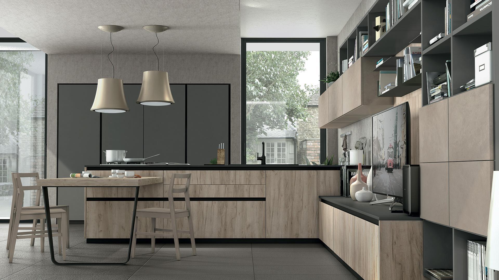 Cucine moderne arredare in uzzano soluzioni arredamento for Soggiorni lube prezzi